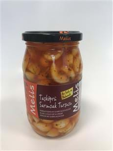 Hot Pickled Garlic