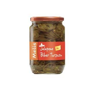 Pickled Jalapeno Peppers (Sliced)
