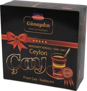 Günaydin Earl Grey Tea Bag