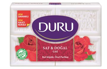 Duru Pure & Natural  & Mehrzweckseife Rose