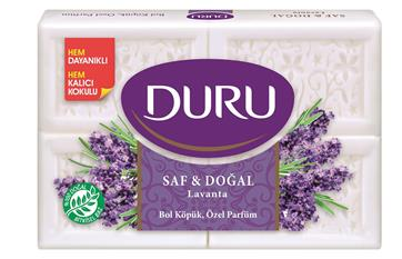 Duru Pure & Natural Mehrzweckseife Lavendel
