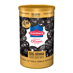 Özel Devasa Whole Black Olives