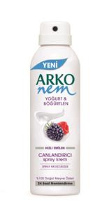 Arko Spray Moisturizer with Joghurt & Berry