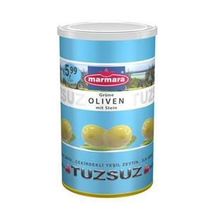 Whole Green Olives (Low-Salt)