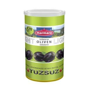 Whole Black Olives (Low-Salt & Pitted