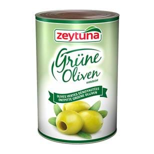 Whole Green Olives (Pitted)