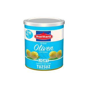 Green Olives (Salt reduced)