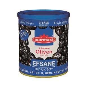 Efsane Whole Black Olives