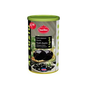 Harika Black Ripe Olives (Cracked)