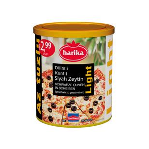 Harika Black Sliced ​Rripe Olives