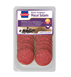 Black Pepper Hungarian Slice Salami