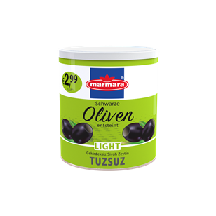 Black Olives (Salt Reduced & Pitted)