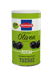 Whole Black Olives (Low-Salt & Pitted)
