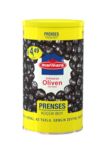Prenses Whole Black Olives