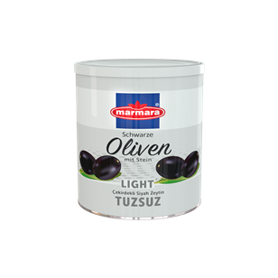 Whole Black Olives (Salt Reduced)