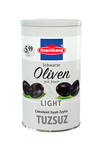 Whole Black Olives (Low-Salt)