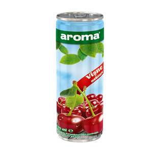 Aroma 100% Sourcherry-Apple Juice